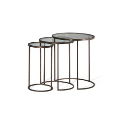 Salvatore | Salvatore Nest Of Tables | Tables d'appoint | Porta Romana