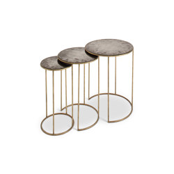 Lilypad Nest Of Tables | Tables d'appoint | Porta Romana