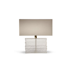 Crystal Strata Lamp | Table lights | Porta Romana