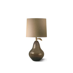 Pear Lamp - Assam - Right | Table lights | Porta Romana