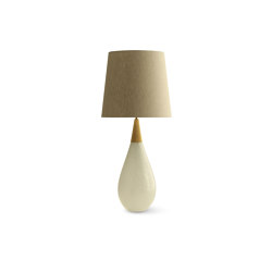 Pearldrop Lamp - Pearl | Table lights | Porta Romana