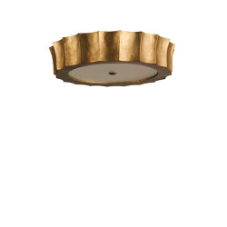 Scalloped Bulkhead | Ceiling lights | Porta Romana