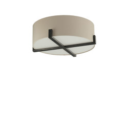 Cross Braced Bulkhead | Ceiling lights | Porta Romana