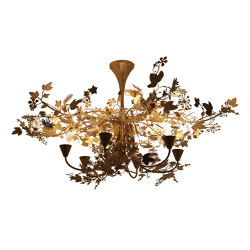 Ivy | Large Ivy Shadow Chandelier | Ceiling lights | Porta Romana