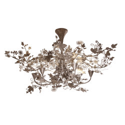 Ivy   Large Ivy Shadow Chandelier   Ceiling lights   Porta Romana