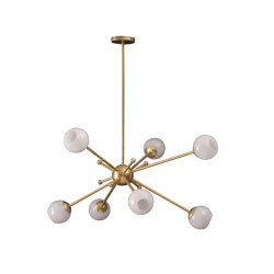 Orbit | Orbit 2 Chandelier | Suspended lights | Porta Romana