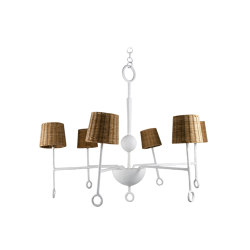 Crawford | Small Crawford Chandelier | Suspended lights | Porta Romana