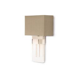 Perspex | Square Perspex Wall Light | Wall lights | Porta Romana