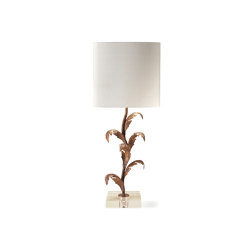 Florentine Leaf Lamp | Table lights | Porta Romana