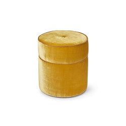 Round Button Stool   Poufs   Porta Romana