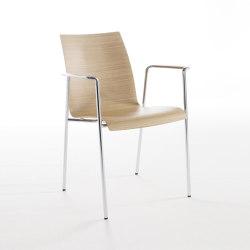 fina 6408/A | Chairs | Brunner