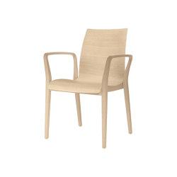 fina wood 6802/A | Chairs | Brunner