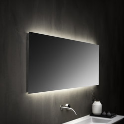 Mirrors with straight edges with led back lighting | Espejos de baño | Falper
