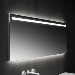 Mirrors with straight edges with frontal led lighting | Espejos de baño | Falper