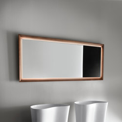 Mirrors with wooden frame | Espejos de baño | Falper