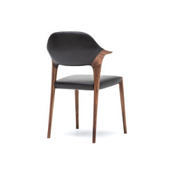 Dining chair, short arm | Chairs | Kunst by Karimoku