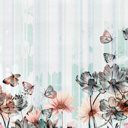 Flowerlines | Wall coverings / wallpapers | Inkiostro Bianco
