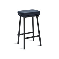 Tubby Tube Counter Stool | Upholstered seat | Stools | Please Wait to be Seated