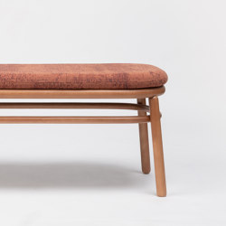 Lana Bench Wood | Benches | ONDARRETA