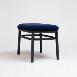 Lana Ottoman Wood | Poufs / Polsterhocker | ONDARRETA