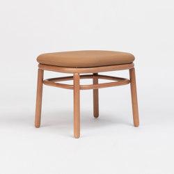 Lana Ottoman Wood | Poufs | ONDARRETA