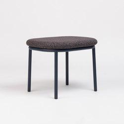 Lana Ottoman Steel | Poufs | ONDARRETA