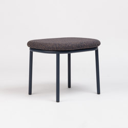 Lana Ottoman Steel | Poufs / Polsterhocker | ONDARRETA
