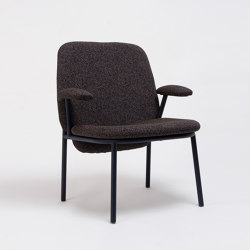 Lana Easy Armchair Steel | Armchairs | ONDARRETA