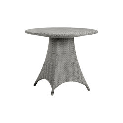 AMARI FULLY WOVEN DINING TABLE ROUND 90 | Mesas comedor | JANUS et Cie