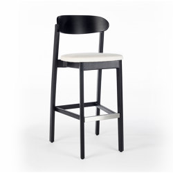 Arch Barstool - Oak Dark | Barhocker | Wildspirit