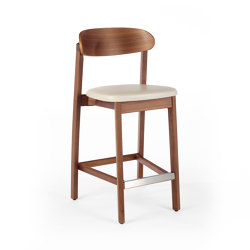 Arch Barstool - Walnut | Counterstühle | Wildspirit