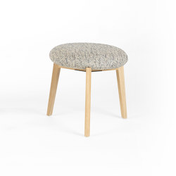 Macaron Low - Oak Natural | Poufs | Wildspirit
