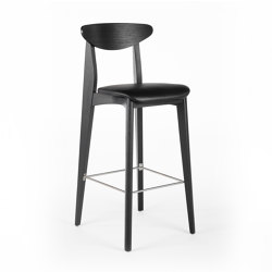 Ink Barstool - Oak Dark | Bar stools | Wildspirit