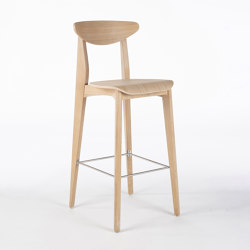 Ink Barstool - Oak Natural | Bar stools | Wildspirit