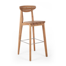 Ink Barstool - Teak | Bar stools | Wildspirit