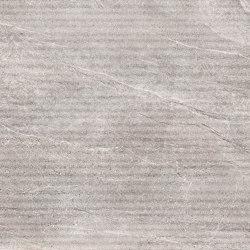 Aspen | Struttura Grooves | Rock Grey | Keramik Fliesen | Novabell