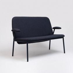 Lana Sofa Steel With Armrest | Sofas | ONDARRETA
