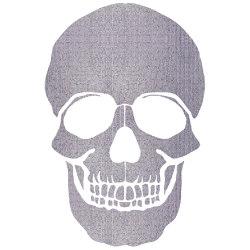 The Skull | The Skull Crystal Mesh | Carta parati / tappezzeria | INSTABILELAB