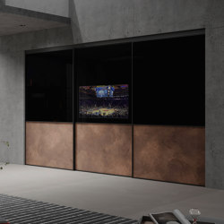 S 1200 sliding tv door | Armadi multimediali | raumplus