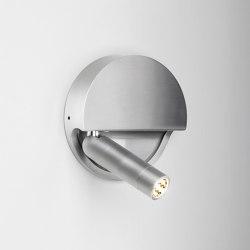 Ledtube R Left Aluminium | Wall lights | Marset