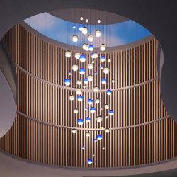 Cluster | Suspended lights | Marset