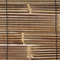 Bamboos | Split Mahogany Bamboo | Roofing systems | Caneplex Design