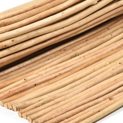 Natural and peeled willow | Willow natural 18-26mm | Roofing systems | Caneplex Design