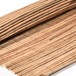 Natural and peeled willow | Willow natural 6-14mm | Roofing systems | Caneplex Design