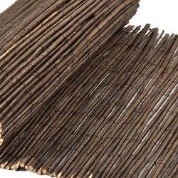 Natural and peeled willow | Willow peeled 6-14mm | Roofing systems | Caneplex Design