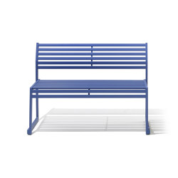 CORTINA.026 SEAT WITH BACKREST | Benches | Diemmebi