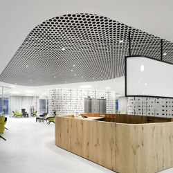 Character Design Ceiling + Lighting | Loop + Punteo-J | Suspended ceilings | durlum