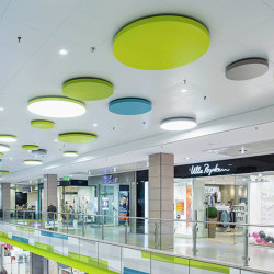 Character Design Ceiling + Lighting | Tomeo-R Ceiling-Lighting Combination | Suspended ceilings | durlum
