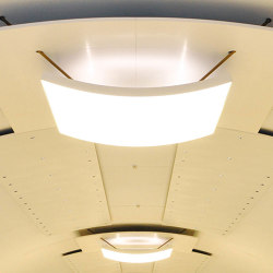 Character Design Ceilings | Domus Curved Ceiling | Suspended ceilings | durlum