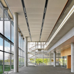 Expanded Metal Ceilings | S5 Rhombos Linear C-Channel System | Suspended ceilings | durlum